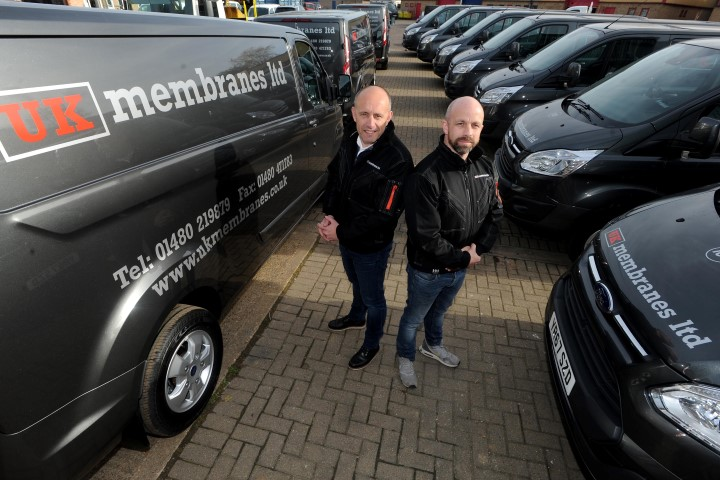 In December we extended the fleet and acquired 10 new vans