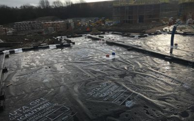 Uk Membranes complete gas membrane work in Chesterfield